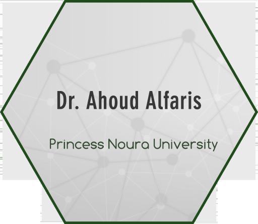 Dr. Ahoud Alfaris