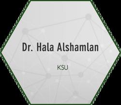 Dr. Hala Alshamlan