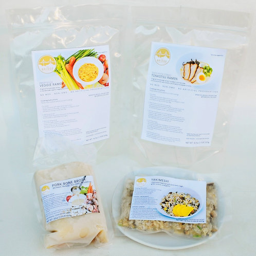 4 Serving Package + Bone Broth for Cats & Dogs