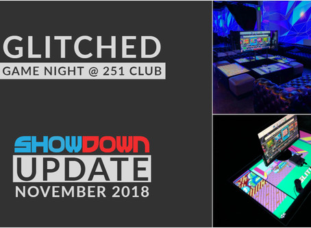 ShowDown launches Glitched Game Nights