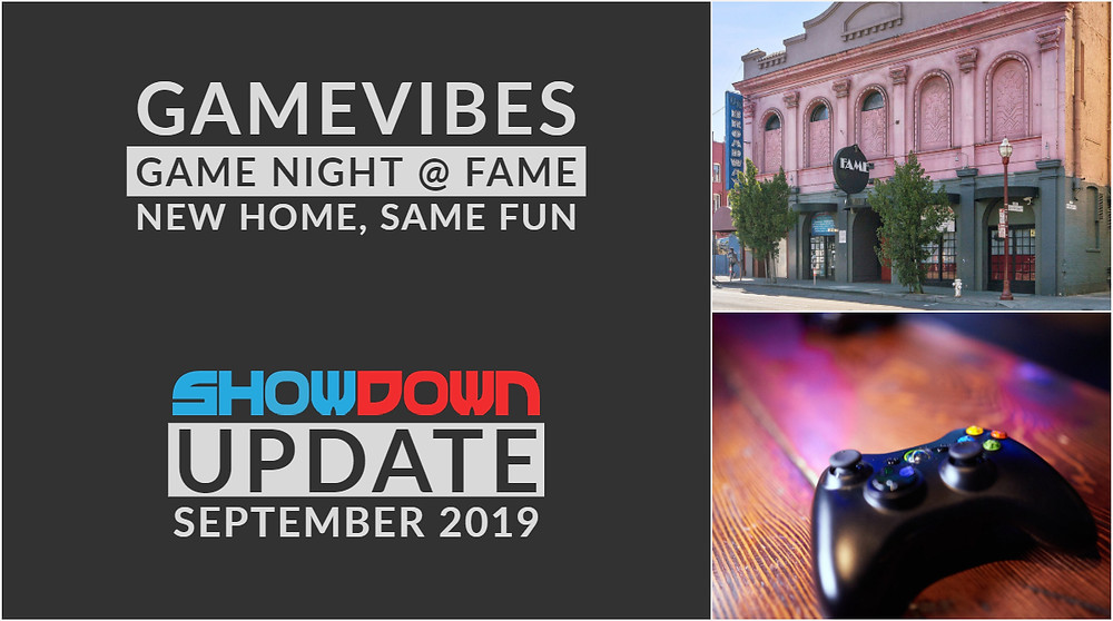 showdown relaunches gamevibes at fame in north beach