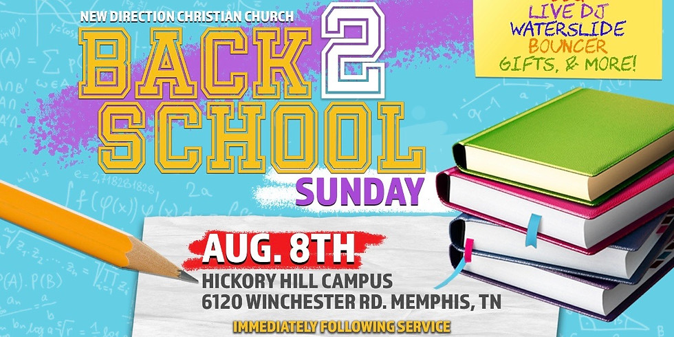 Back 2 School Sunday