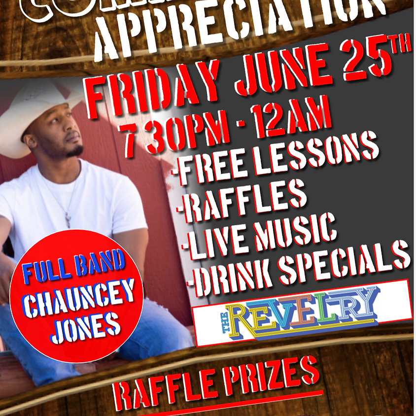 Friday Country Dance Community Appreciation