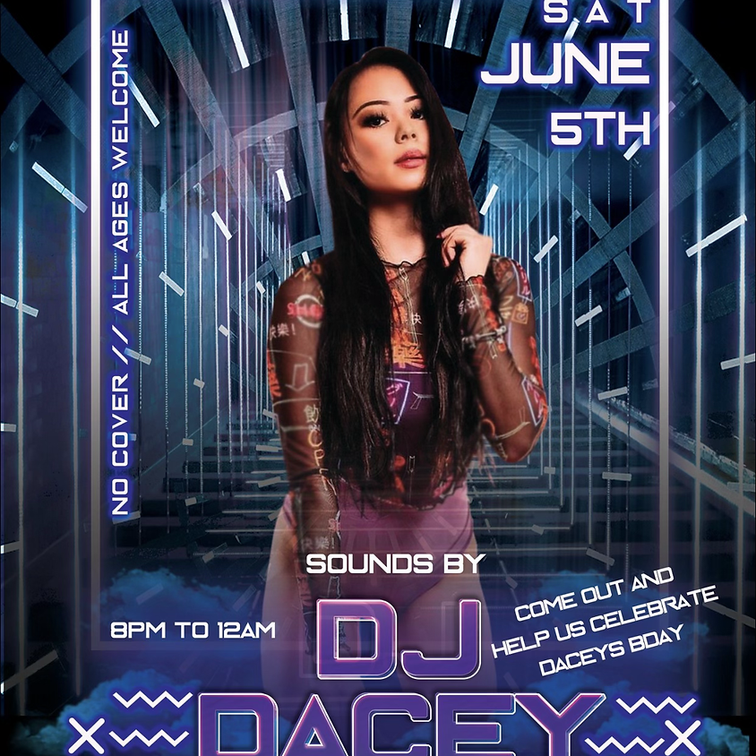 Saturday with DJ Darcy
