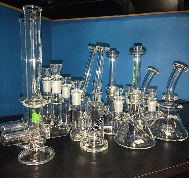 Just got in a nice variety of _fatboyglass hit the DM for info!  #glass #glassofig #smokeshop #heads