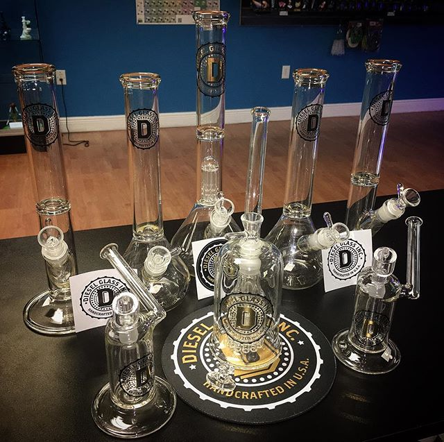 _dieselglassinc Now in stock! #glass #glassofig #floridaglass #productionglass #prodo #smokeshop #he