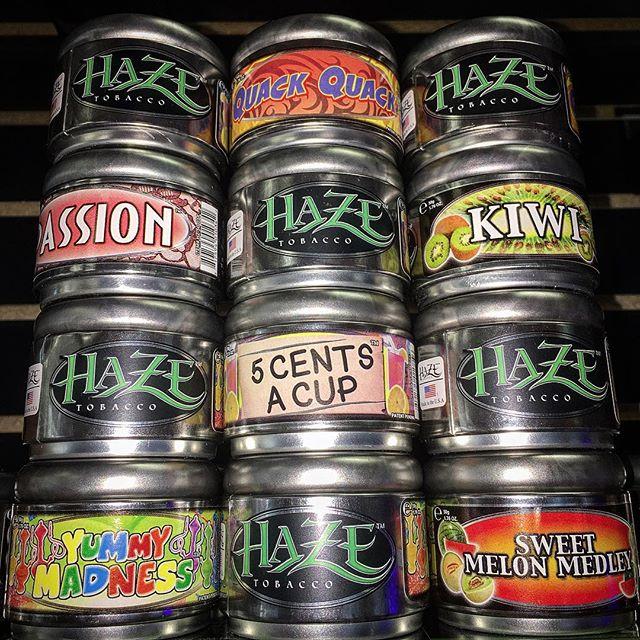 _hazetobacco Haze Premium Tobacco now in stock! #hookah #shishatime #hookahs #smokeshop #headshop #s
