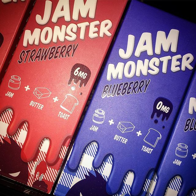 🔥🔥 new 100ML bottles of _jammonsterliquids for the low 👌🏼 #blueberry #strawberry #toast #butter
