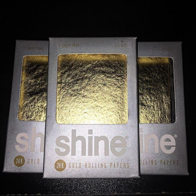_shinepapers Shine Papers 2 sheet packs now available! #shinepapers #24k #gold #goldjoints #shine #p
