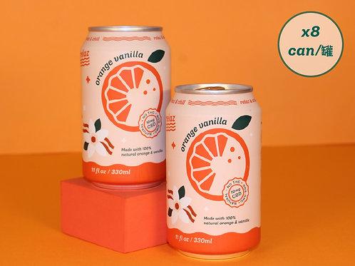 Orange Vanilla (8cans)