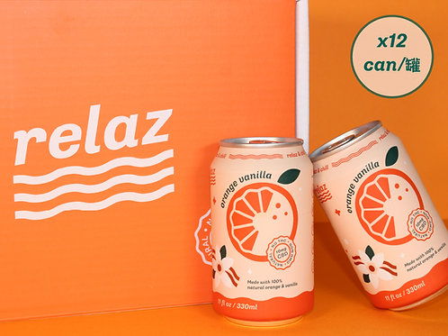 Orange Vanilla (12cans)