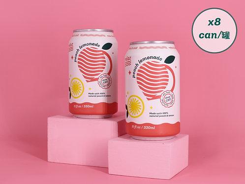 Peach Lemonade (8cans)