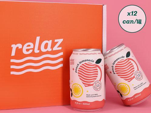 Peach Lemonade (12cans)