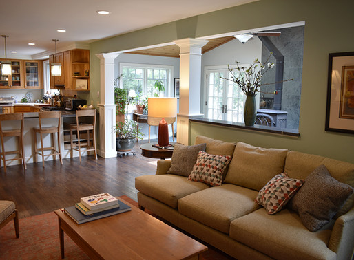 Bright and Cozy First-Floor Home Renovation