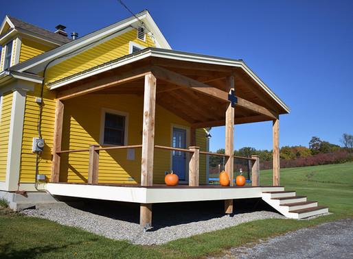 Timber-Framed Porch