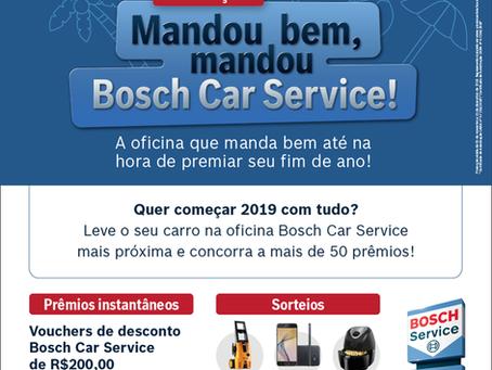 Promoção Mandou bem, mandou Bosch Car Service!