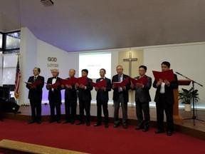 남선교회 헌신예배 특송