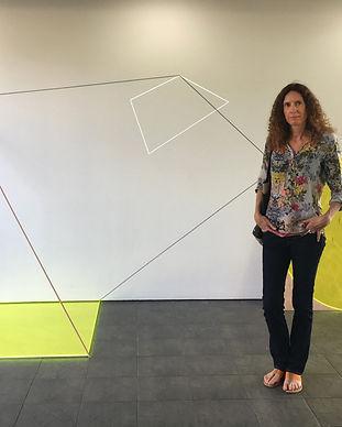 Karyn Taylor artist, Diagram for a Quantum Event