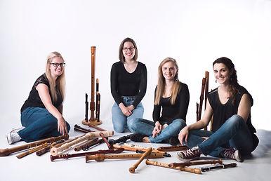Palsander recorder quartet educational workshops