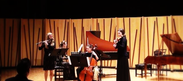 Performing Quartet A minor -CPE Bach