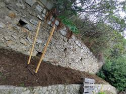 Terrasse suite : préparation du sol