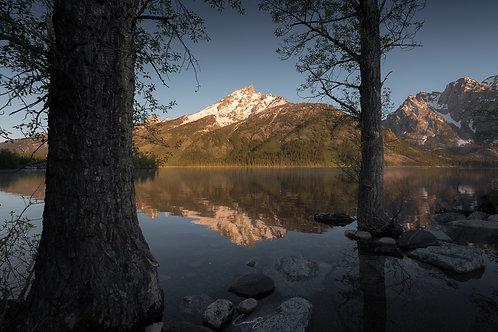 Sunrise at Jenny Lake II