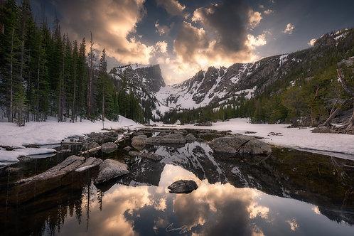 Dream Lake at Sunset