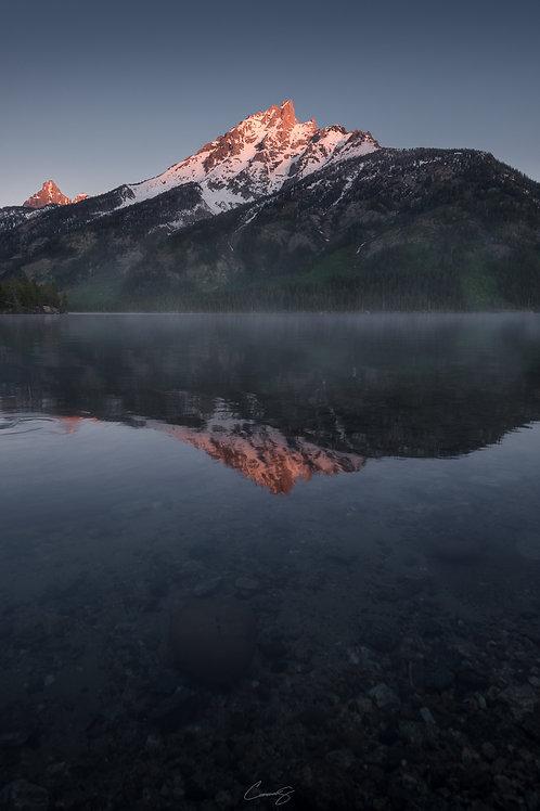 Sunrise at Jenny Lake I