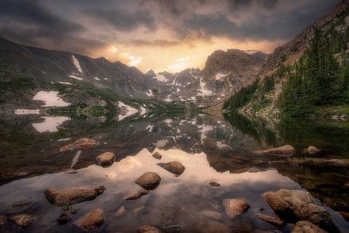 Lake Isabelle at Sunset