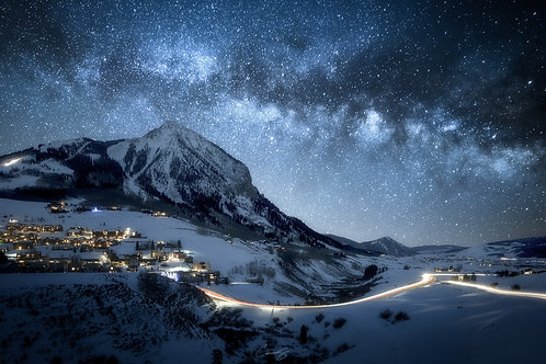Stars over Crested Butte