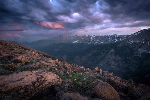 Sunset on Ute Trail II