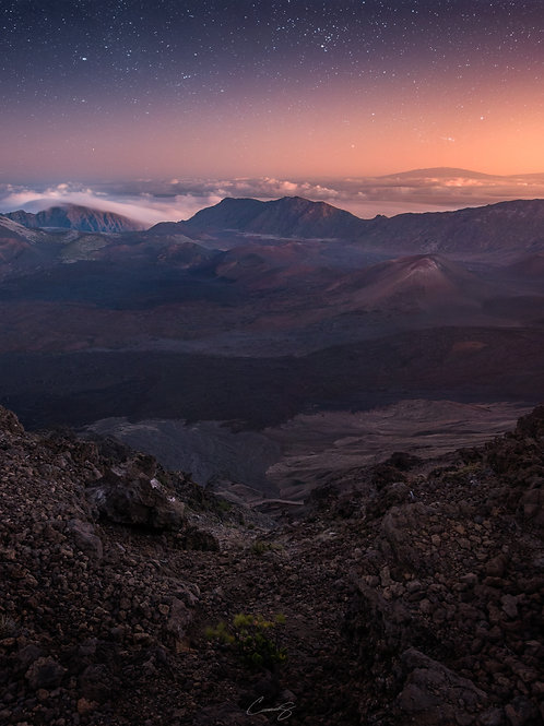 Twilight on Haleakala