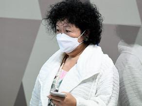 Dra Nise Yamaguchi processa senadores.