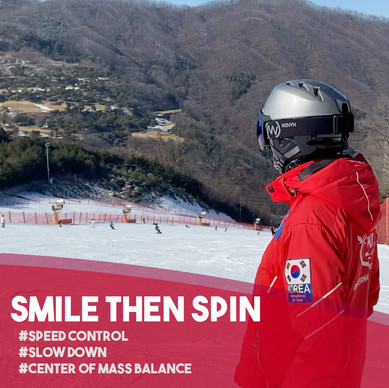 Fun Ski Drills: Smile then Spin