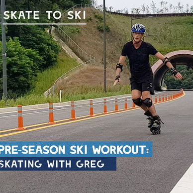 Pre-season ski workout: Skate to ski