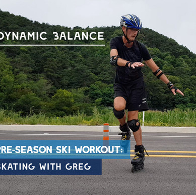 Pre-season ski workout: Dynamic Balance