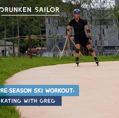 Pre-season ski workout: Drunken Sailor