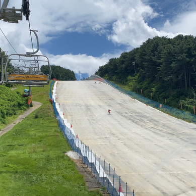 Have you ever been to summer skiing?