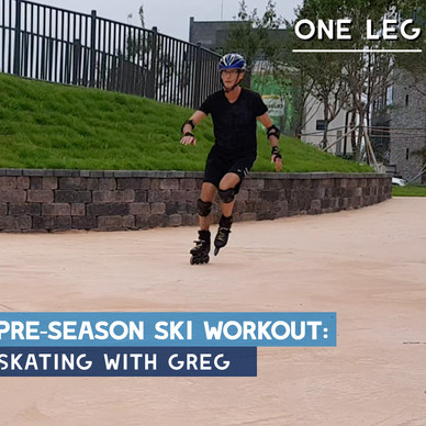 Pre-season ski workout: One Leg