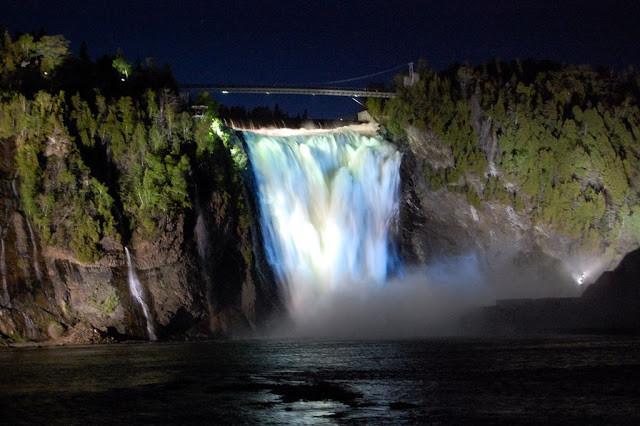 Montmorency Waterfalls