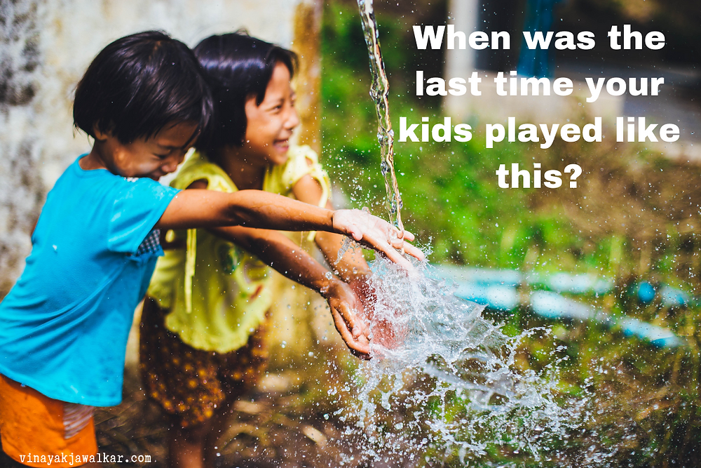 When was the last time your kid played like this?