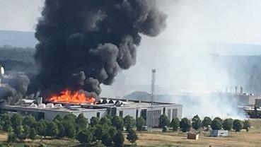 3 juillet 2019 : Incendie à l'usine Seine Aval