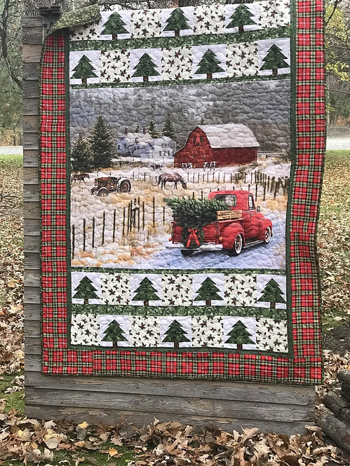 Christmas Memories – Country Christmas Quilt Kit – Riley Blake Designs