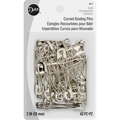 Curved Basting Pins 2 inch