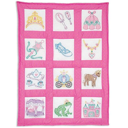 Princess Theme Quilt Blocks