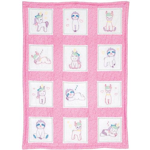 Baby Animals Nursery Quilt Blocks