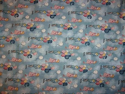 Kids ABC Printed Fabric