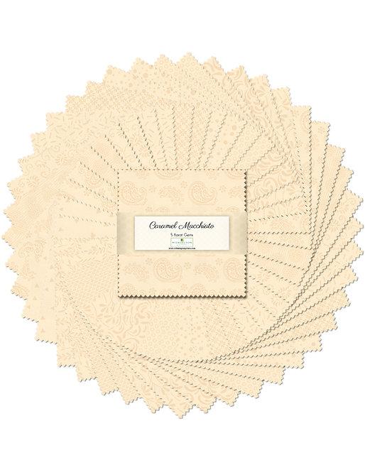 Wilmington Prints - Caramel Macchiato - 5 Karat Gems