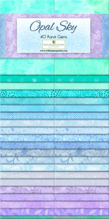 Wilmington Prints Studio Opal Sky - 40 Karat Gems