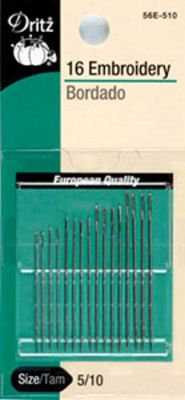 Embroidery Hand Needles Size 5/10